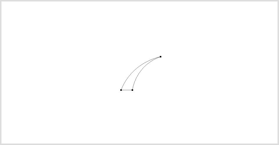 1.使用钢笔工具勾出一片叶子的轮廓.jpg
