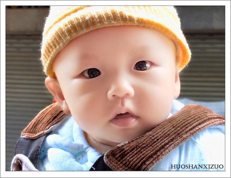 Photoshop快速修复偏暗红色的小宝宝照片