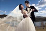 利用两次通道抠出透明婚纱