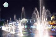 Photoshop让喷泉的水花动起来
