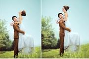 婚纱照细节处理以及PS效果分类
