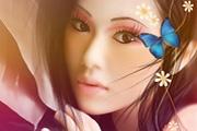 美女图片转古典仿手绘效果