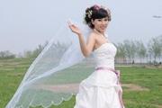 仿制图章及通道抠出透明婚纱