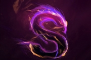 手工打造漂亮的紫色火焰字