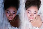 婚纱照片的经典调色和美白