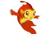 PS鼠绘可爱的卡通小鲤鱼