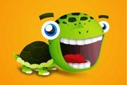 PS鼠绘大头乌龟卡通形象