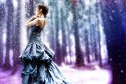 PS打造漂亮的梦幻紫色婚片