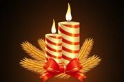 教你使用PS打造出漂亮的圣诞蜡烛