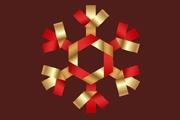 PS制作漂亮的圣诞剪纸雪花