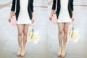 利用PS让姑娘拥有大长腿