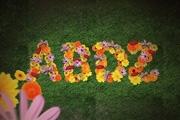 Photoshop制作可爱的鲜花拼贴字