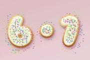 PS制作出可爱的饼干字效果