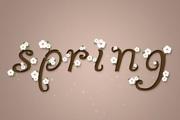 如何用PS制作漂亮可爱的樱花字体