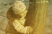 利用纹理素材快速制作褪色的老照片