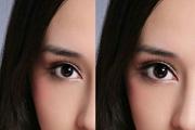 PS中常用的两种眼睛变大方法