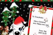 PS制作可爱风格的圣诞贺卡